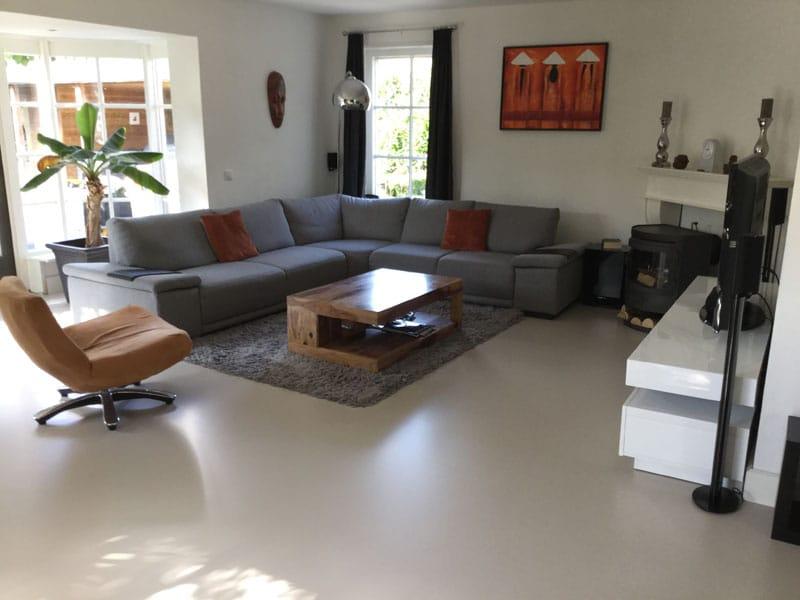 Een gietvloer aanbrengen in uw woning