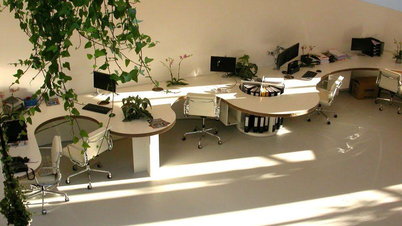 gietvloer op kantoor