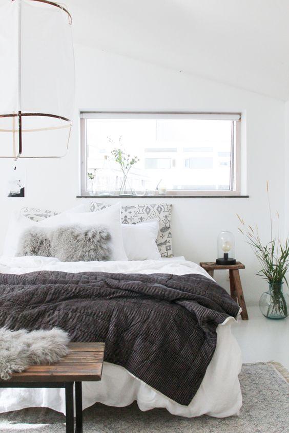 Gietvloer in de slaapkamer