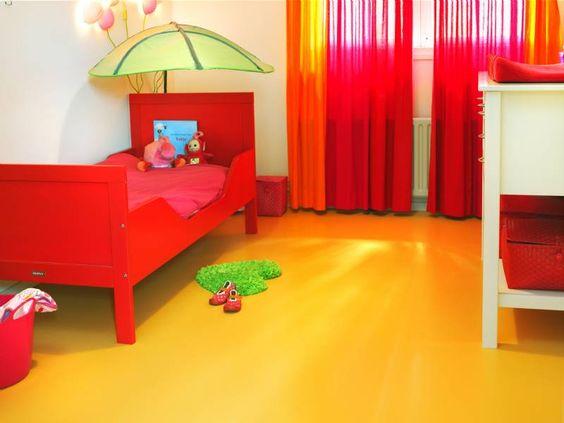 gietvloer in de slaapkamer - Gietvloer in de kinderkamer