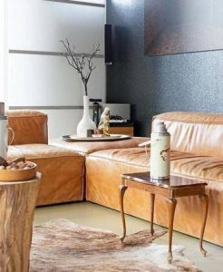 trendy lichtgrijze gietvloer woonkamer