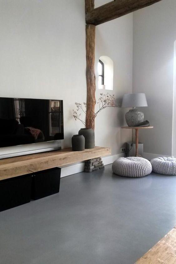 materialen bij een gietvloer - Rust in huis creëren