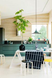 gietvloer wit keuken